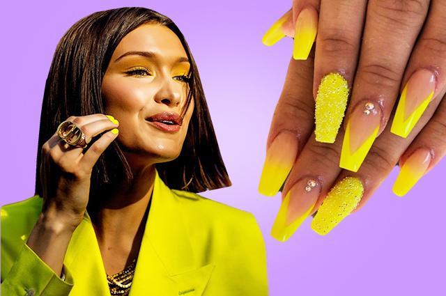 Желтый одуванчик: самый модный лак для ногтей этой весной